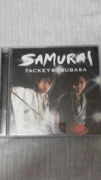 激安タッキー&翼「SAMURAI」限定生産盤(CD+DVD)