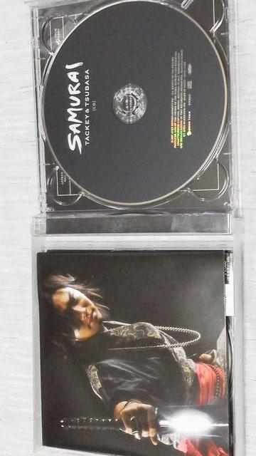 激安タッキー&翼「SAMURAI」限定生産盤(CD+DVD) < タレントグッズの
