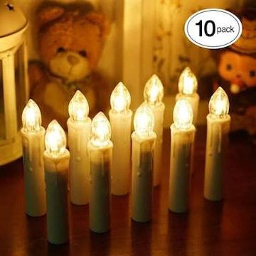 LEDキャンドルライト 電池式蝋燭ろうそくイルミネーション 多様