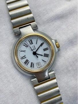 T370 dunhill ダンヒル 腕時計 クォーツ スイス製 稼働品