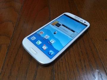 即落/即発!!美中古品 SC-06D Galaxy S3 ホワイト