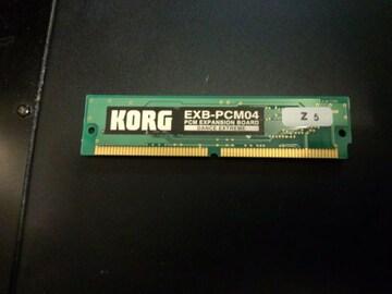 KORGエクスパンションボードEXB-PCM04 DANCE EXTREME●