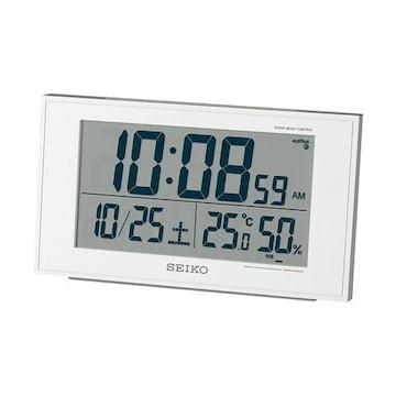 セイコー クロック 目覚まし時計 電波 デジタル