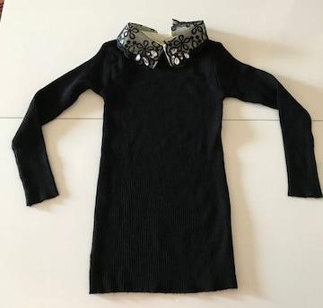 セーター 黒色 フリーサイズ