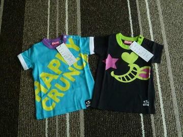 新品☆CRANCHIPS(クランチップス)半袖Tシャツ2枚セット☆