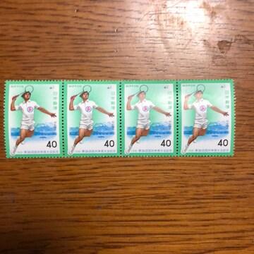 572送料無料記念切手160円分(40円切手)ポイント消化