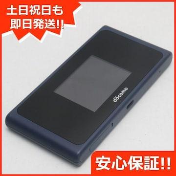 ●安心保証●新品同様●HW-01L Wi-Fi STATION ブルー●