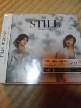 CDソフト 東方神起 CD+DVD STILL 初回盤 帯付き
