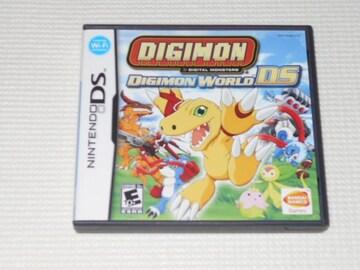DS★DIGIMON WORLD DS 海外版(国内本体動作可能)