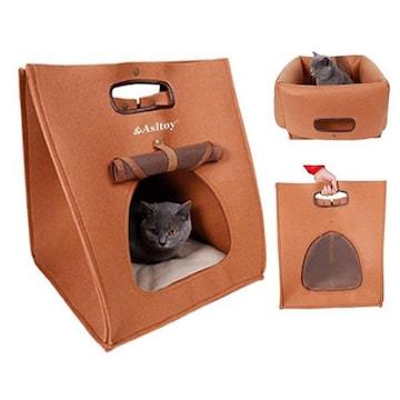 3WAY 猫 ハウス キャリーバッグ
