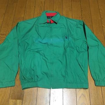 ヴィンテージ ラルフローレン コットン スイングトップ 緑/赤 M