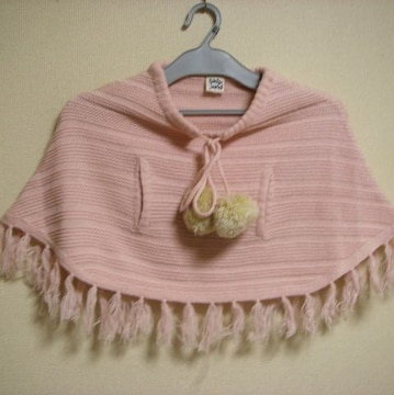レモール スキップランド ポンチョ 羽織り M (80cm~)