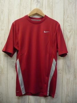即決☆ナイキ処分特価 スフィアドライTシャツ RED/S 新品