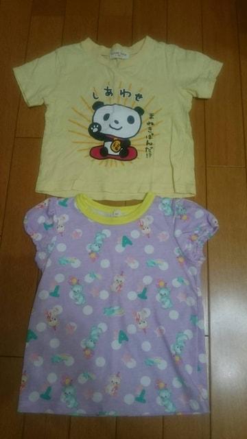 子供服(女の子)95〜サイズ☆まとめ売り/夏物トップス7点 < キッズ/ベビーの