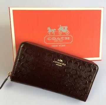 新品コーチ F54805 長財布 レディースサイフアウトレット品