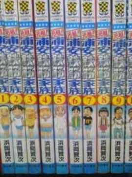 【送料無料】浦安鉄筋家族 全59巻完結セット《ギャグ漫画》