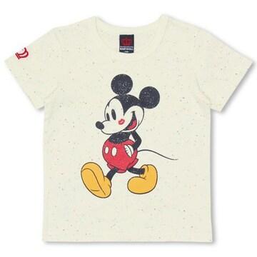 新品BABYDOLL☆140 ミッキー Tシャツ オフホワイト ディズニー ベビードール