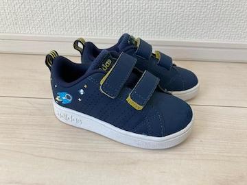 adidas アディダス ベビー シューズ 靴 13.0 男の子 ロケット 紺 ネイビー