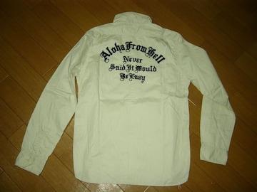 クーティーCOOTIEワークシャツL長袖ステッチ刺繍