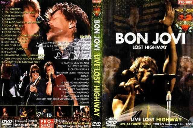 BON JOVI LOST HIGHWAY 2008 ボンジョヴィ  < タレントグッズの