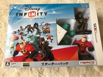 Disny  INFINITY  スターターパック  任天堂3DS