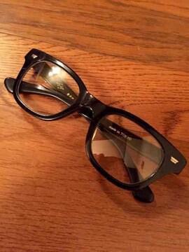 岩井眼鏡製作所 伊達 メガネ 眼鏡 セルロイド ウェリントン