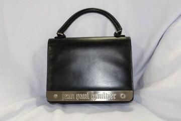 JEAN PAUL GAULTIER ゴルチェ メタルプレートハンドバッグ