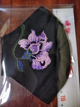 超立体系インナーマスクorマスクカバー(*^ω^)豪華刺繍レースblack1枚