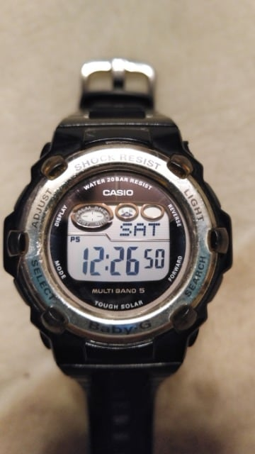 CASIO baby-G  TOUGH SOLAR ソーラー電池 腕時計 稼動品