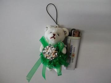 新品未使用☆熊(くま、クマ)ストラップ♪再々値下げ
