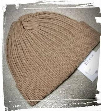 *ichi* ニット帽 新品 モカベージュ