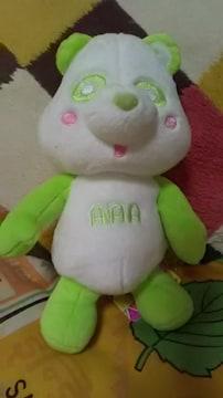 AAA・え〜パンダ・ぽーじんぐキメキメぬいぐるみ・緑 浦田
