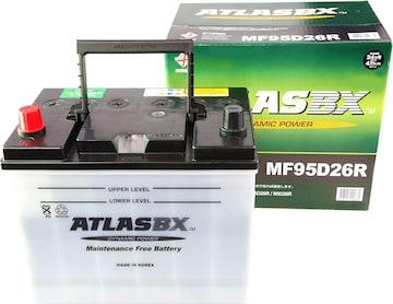 [ アトラス ] 国産車バッテリー 95D26R