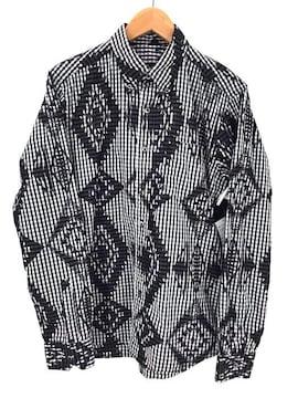 SOPHNET.(ソフネット)NATIVE PATTARN MIX B.D SHIRTシャツ