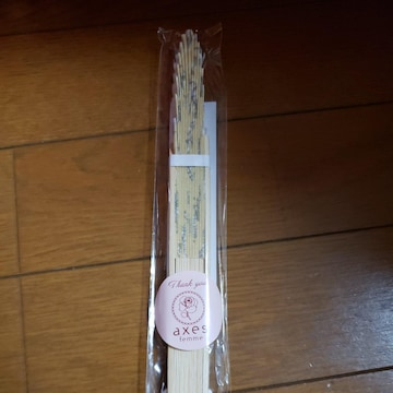 【aaxesfemme】ノベルティ 扇子