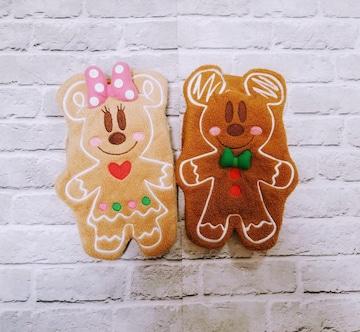 DISNEY◆ミッキー&ミニークリスマスクッキー手袋◆ディズニー