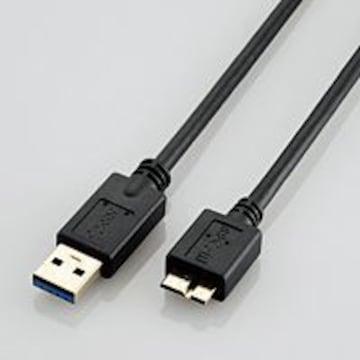 ★ELECOM USB3.0ケーブル USB3.0(A)-USB3.0(MicroB)