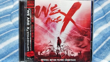 X JAPAN WE ARE X O.S.T BSCD2盤 2枚組ベスト 帯付