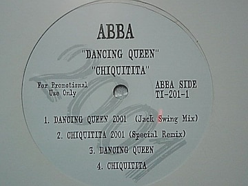 ABBAアバ「ダンシング・クィーン/チキチータ」歴史的名曲激レアREMIX&オリジナルバージョン