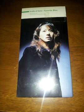 フェイバリットブルー☆truthoflove♪CDシングル美品◇