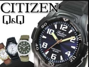 ☆シチズン Q&Q CITIZEN 腕時計