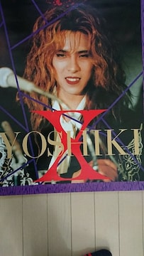 X JAPAN YOSHIKI ポスター 1992