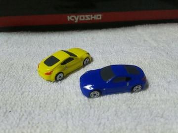 カプセルトミカDX11 フェアレディZ34  青 黄 約1/108スケール