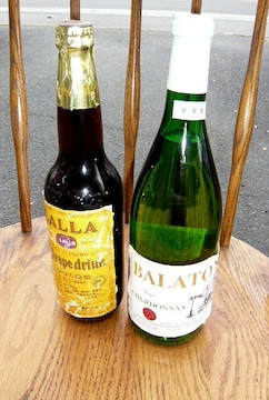 未開栓 LALLA GRAPE DRINK+balaton chardonnay