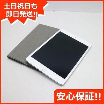 ●新品同様●SIMフリー iPad mini 4 Cellular 64GB シルバー●