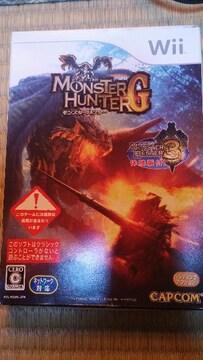 Wiiソフト モンスターハンターG モンスターハンター3体験版付 2枚組