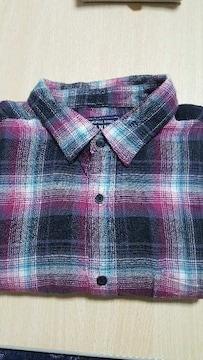 UNIQLO★冬物長袖★チェックシャツ〜Lサイズ