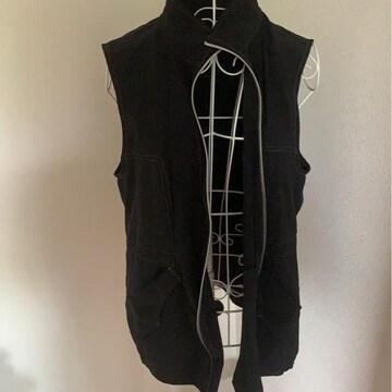 黒★シンプル★袖なしベスト★Lサイズ