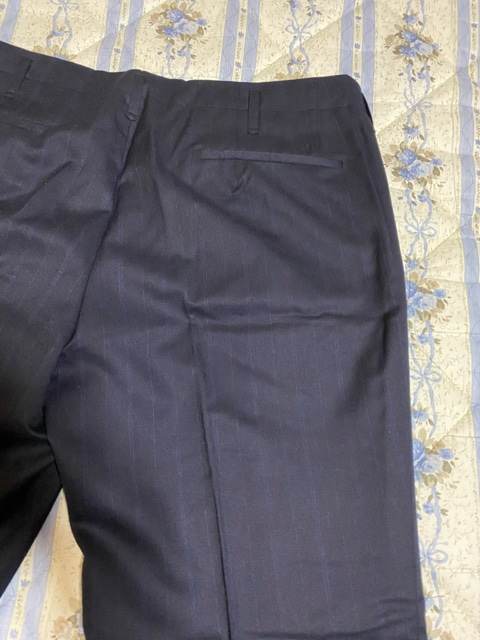 紺スラックス < 男性ファッションの