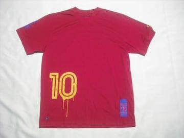 rt620 男 NIKE ナイキ 半袖Tシャツ Mサイズ 赤 バルセロナ